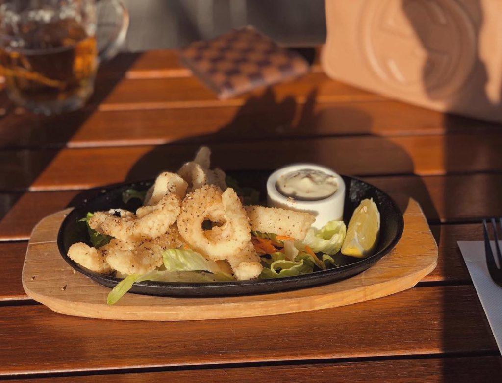 Calamari Entree